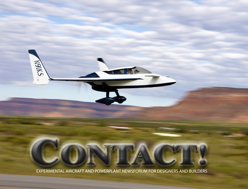 Contact! Magazine- Experimental Aircraft and Powerplant NewsForum