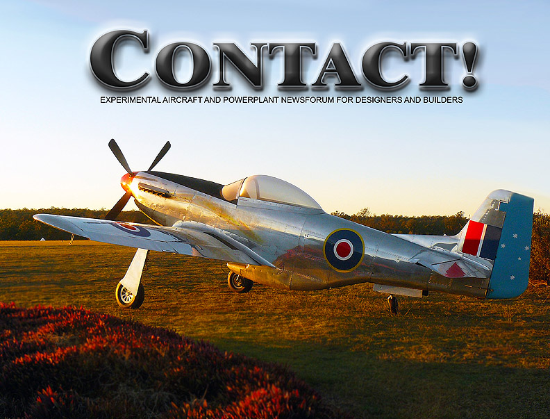 Contact! Magazine- Experimental Aircraft and Powerplant